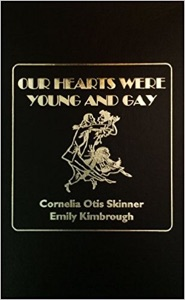an analysis of the book our hearts were young and gay by cornelia otis skinner and emily kimbrough Encuentra our hearts were young and gay de cornelia otis skinner, emily kimbrough, celeste lawson (isbn: 9781433213434) en amazon envíos gratis.