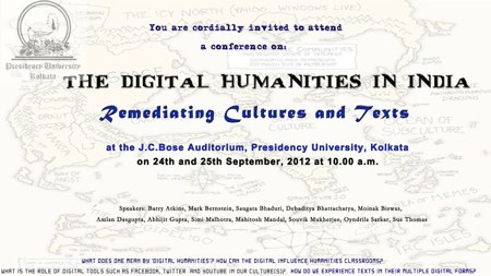 The Digital Humanities In India