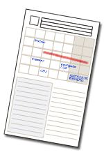Project Planning Card