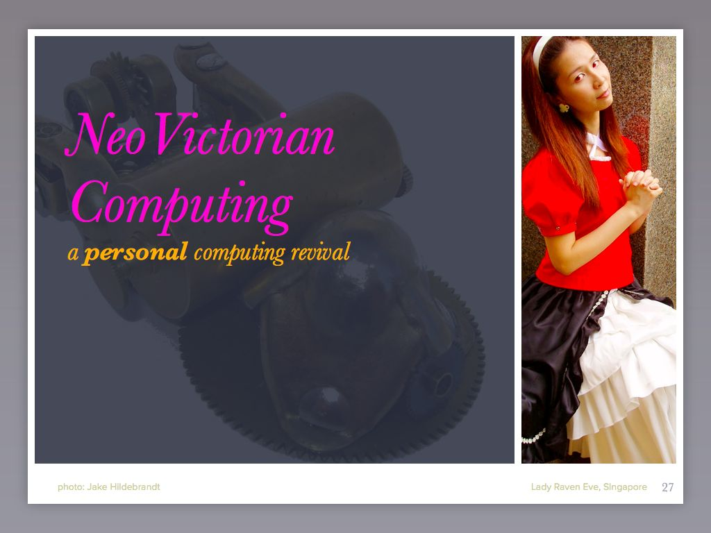 NeoVictorian 1: Civilization and its Discontents